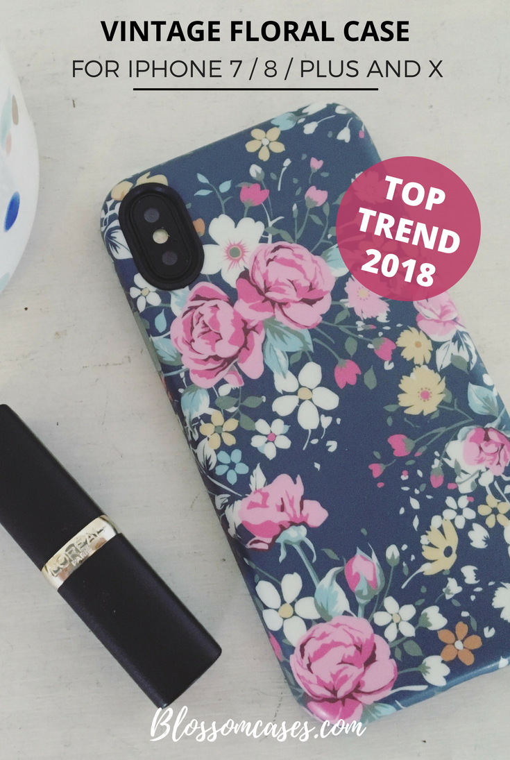 Vintage Floral iPhone Case | Blossom Cases