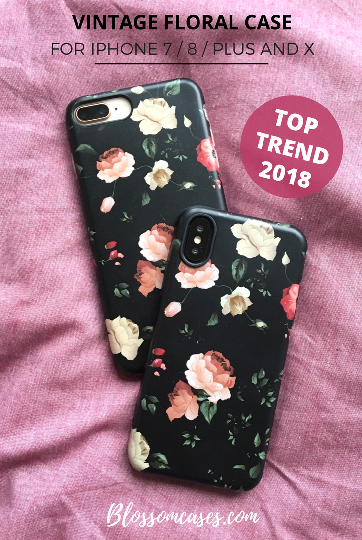 Vintage Floral iPhone Cases | Blossom Cases