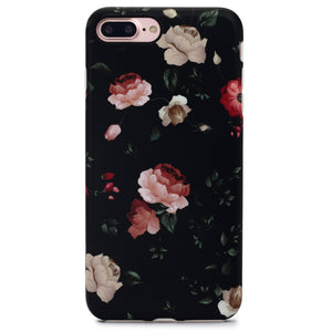 iPhone 8 Plus / 7 Plus Case | Black Rose - By Blossomcases.com | Free Shipping within Europe!