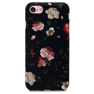 iPhone 8 / 7 Case | Black Rose - By Blossomcases.com | Free Shipping within Europe!