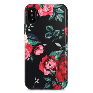 iPhone X Case | Rose Blush - By Blossomcases.com | Free Shipping within Europe!