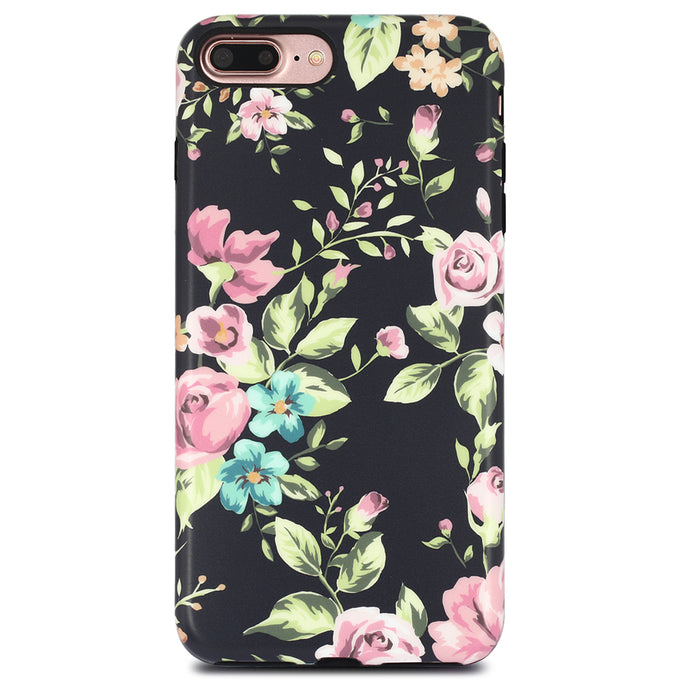 iPhone 8 Plus / 7 Plus Case | Wild Flowers - By Blossomcases.com | Free Shipping within Europe!