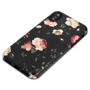 iPhone X Case | Black Rose - By Blossomcases.com | Free Shipping within Europe!