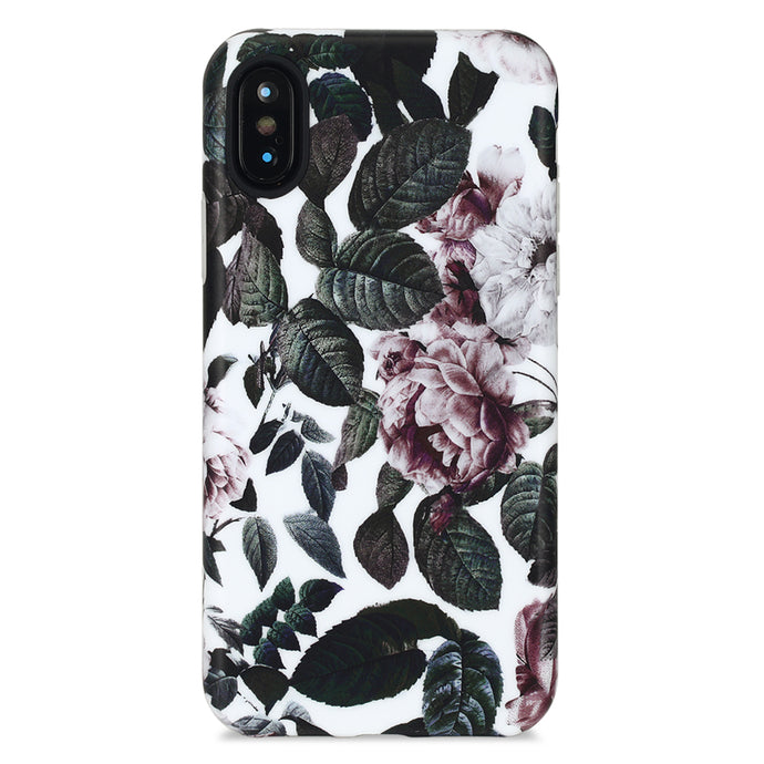 iPhone X Case | Pink Peonies - By Blossomcases.com | Free Shipping within Europe!
