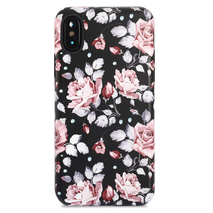 iPhone X Case | Rose Garden - By Blossomcases.com | Free Shipping within Europe!