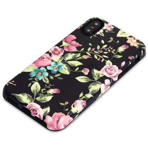 iPhone X Case | Wild Flowers - By Blossomcases.com | Free Shipping within Europe!
