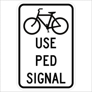 Bicycle Use Ped Signal