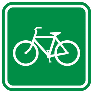 Bicycle Route Symbol