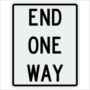 End One Way