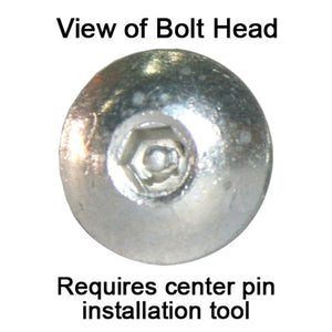 Button Head Bolt - Pinned