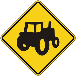 Farm Machinery Crossing Symbol (Alternate)