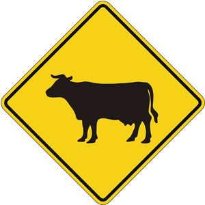 Cattle Crossing Symbol