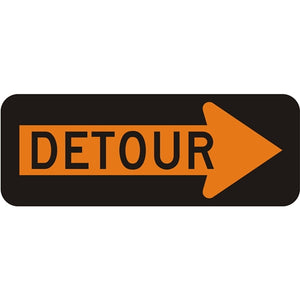 Detour in Right Arrow