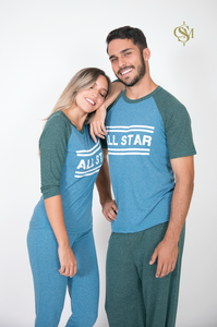 All Star. PIJAMA PANTALÓN MC
