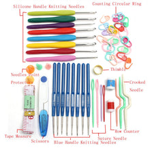 16 Sizes Crochet Hooks, Needles - Crochet Tool Set.