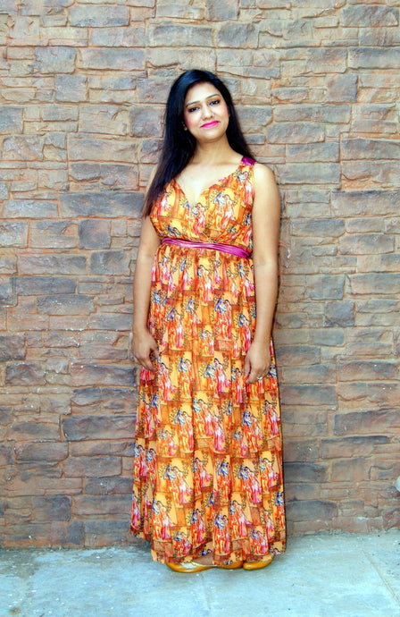 Georgette Digital Printed Dress
