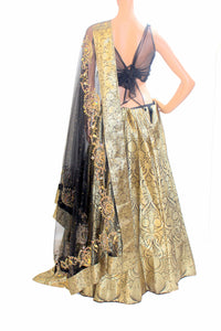 Banarasi Lehenga with Zardozi Work Dupatta and Designer Blouse