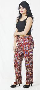 Kalamkari Cotton Printed Pants