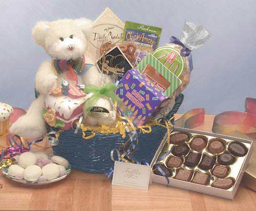 Have A Beary Happy Birthday Gift Basket