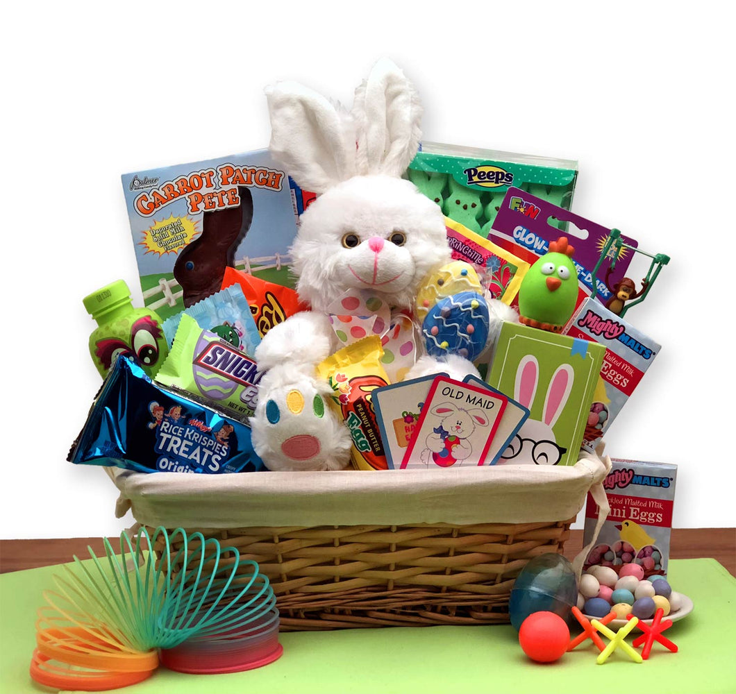 Bunny express easter gift basket avas baskets bunny express easter gift basket negle Choice Image