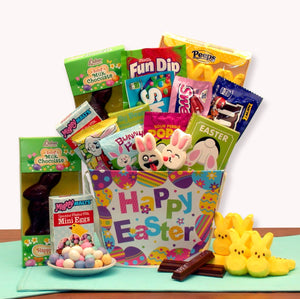 Hoppy Bunny Treats Easter Gift Basket