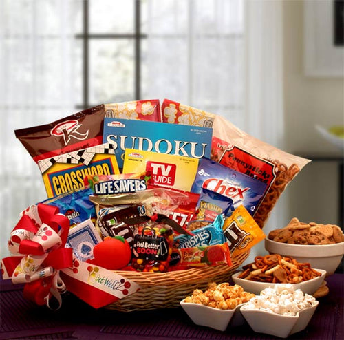 Feel Better Soon Get Well Gift Basket