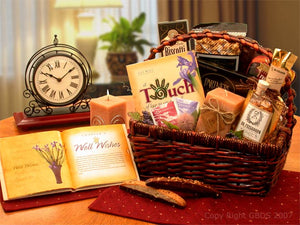 Wellness Wishes Get well Gift Basket