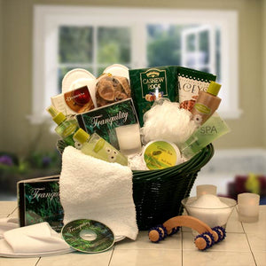 Spa Luxuries Gift Basket