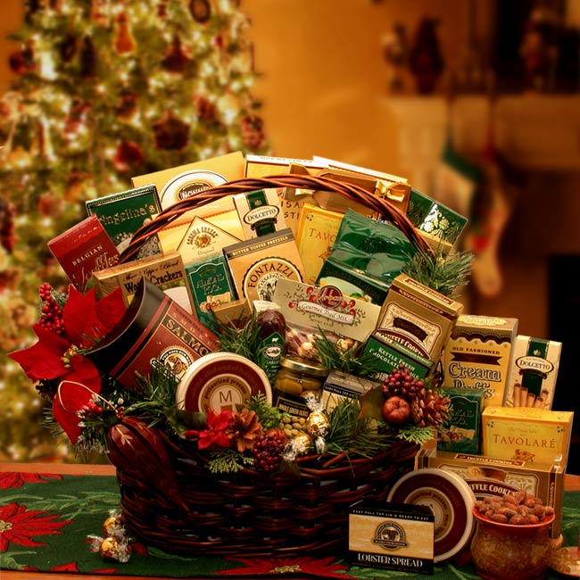 Grand Gatherings Holiday Gourmet Gift Basket