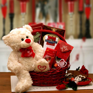 Say You Ll Be Mine Valentine Gift Basket Avas Baskets