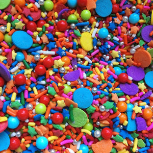 Birthday Cake Sprinkle Mix - Neon Yolk Shop