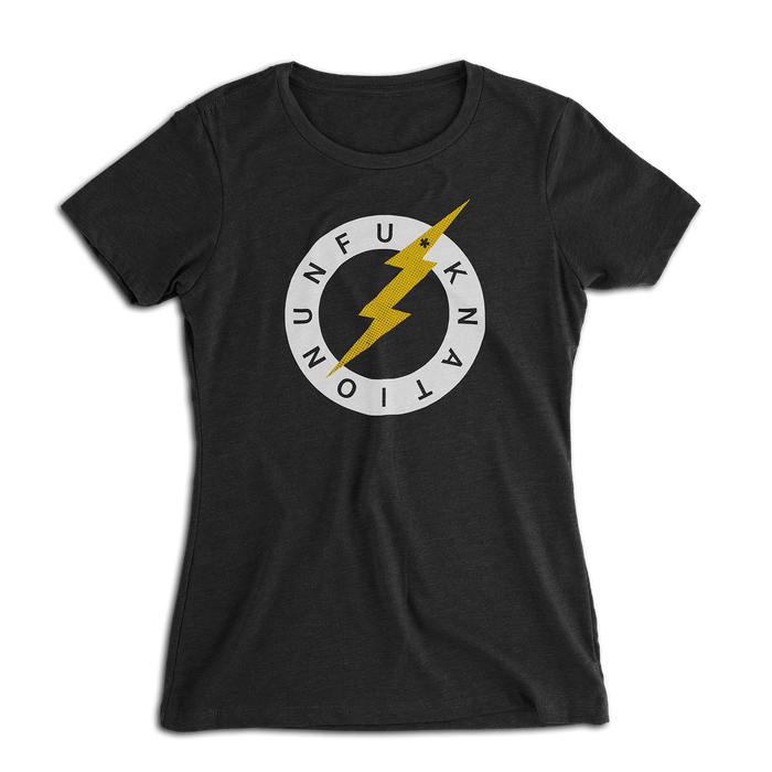 Ladies Unfu*k Nation Lightning Bolt