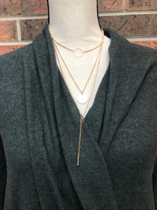 Tiered Bar Necklace