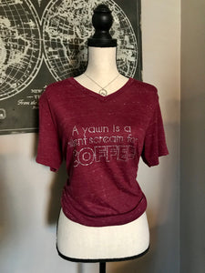 Coffee Yawn Tee