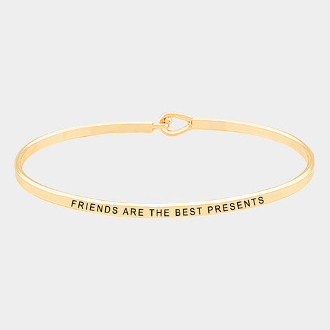 Friends Are The Best Present Bracelet