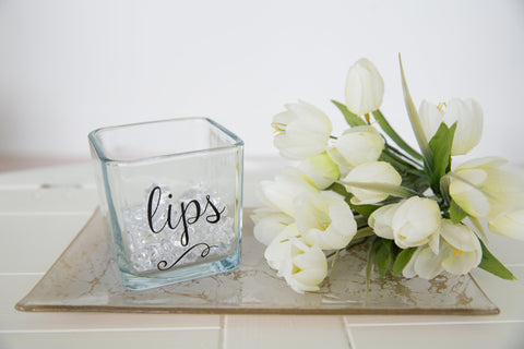 Lips Make Up Holder