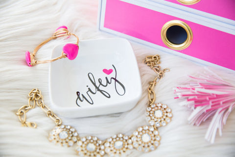 Wifey Accessory/Jewelry Tray