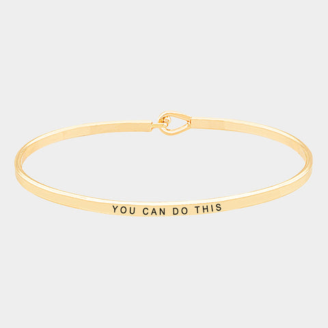 You Can Do This Bracelet