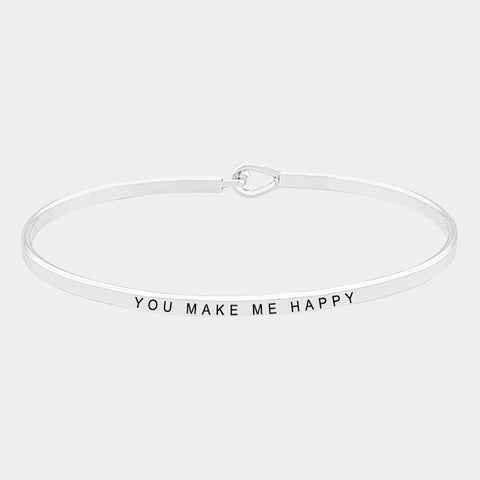 You Make Me Happy Bracelet
