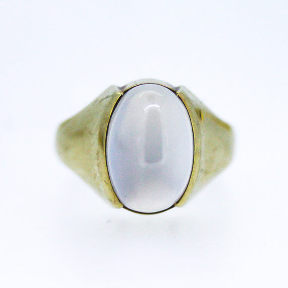 >Lunar< 9ct Gold Moonstone Ring