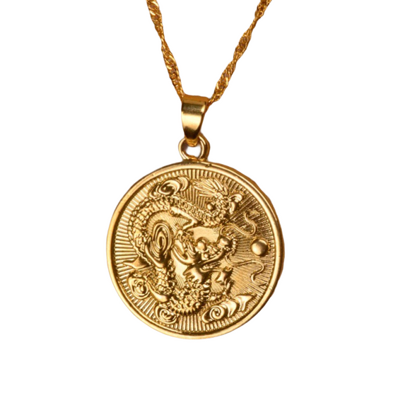 Dragon Medallion Pendant