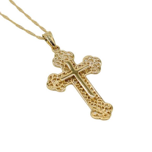 Decorative Cross Pendant
