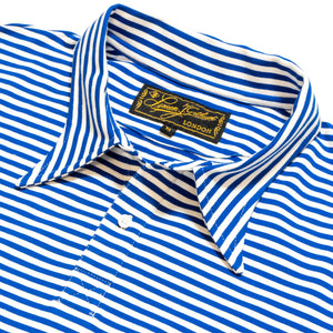 Nautical Blue Stripe Polo