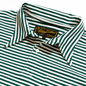 Green Stripe Polo