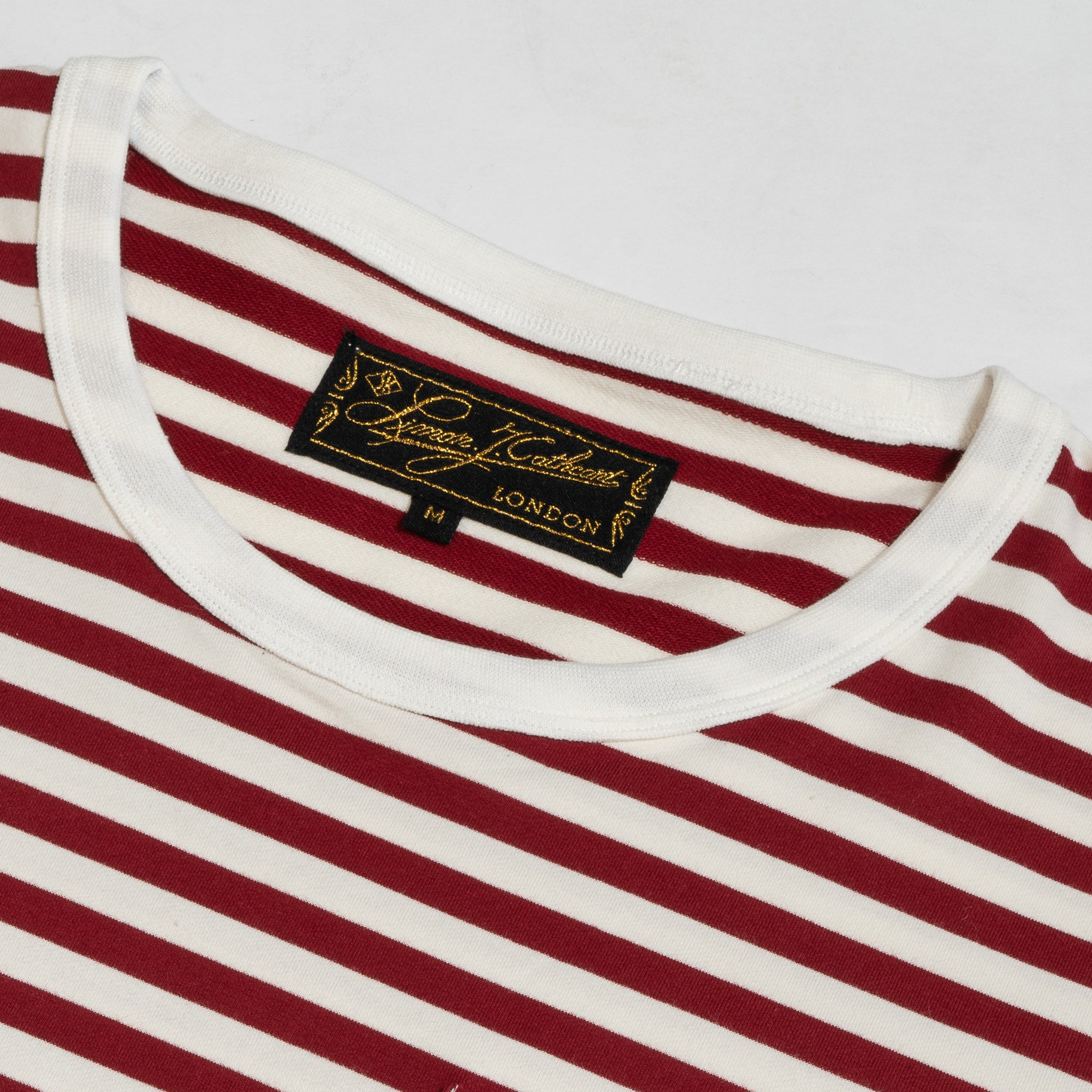 Cranberry Stripe T-Shirt