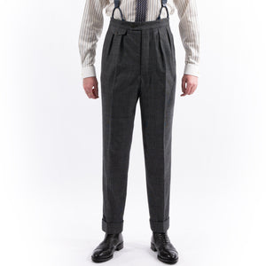 Charcoal Check Eden Trousers