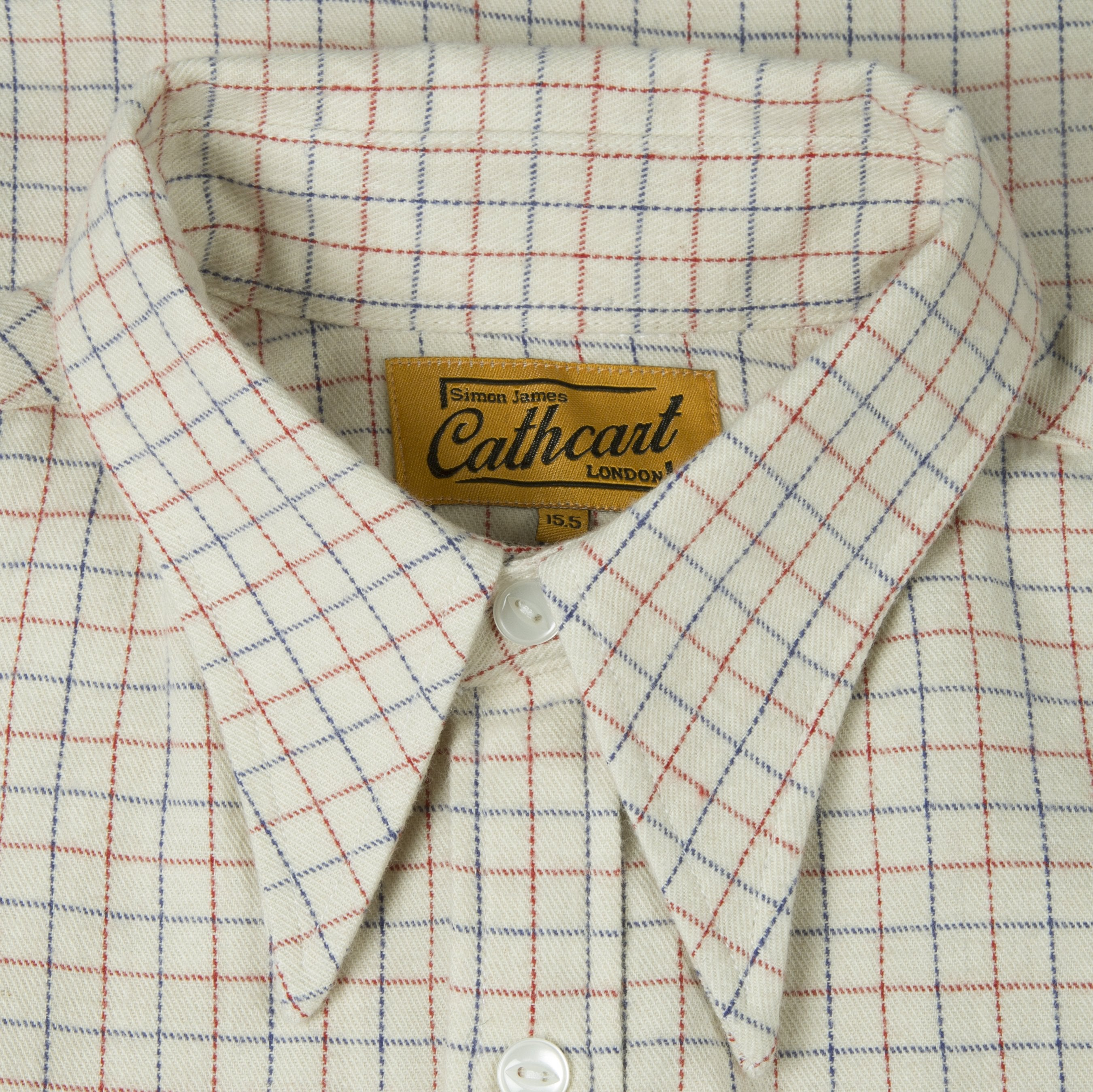 Cream Tattersall Shirt