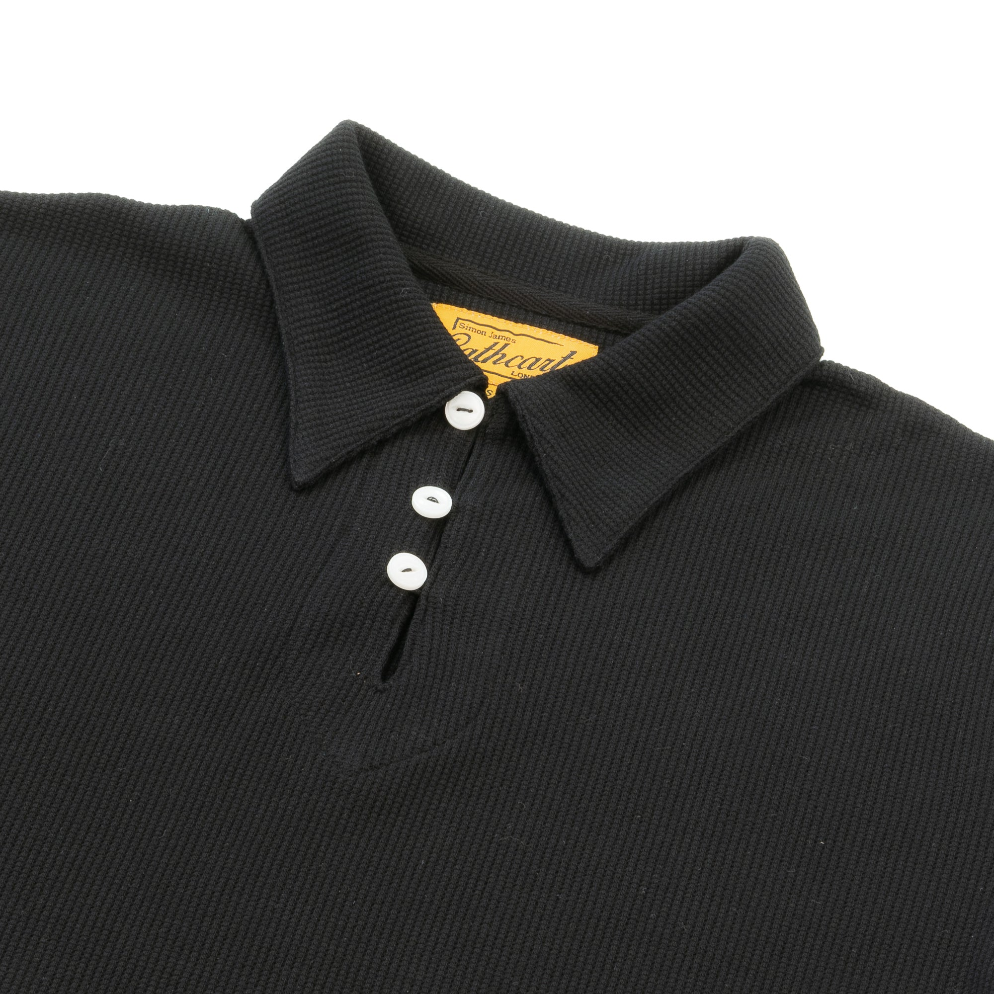 Black Deco Polo