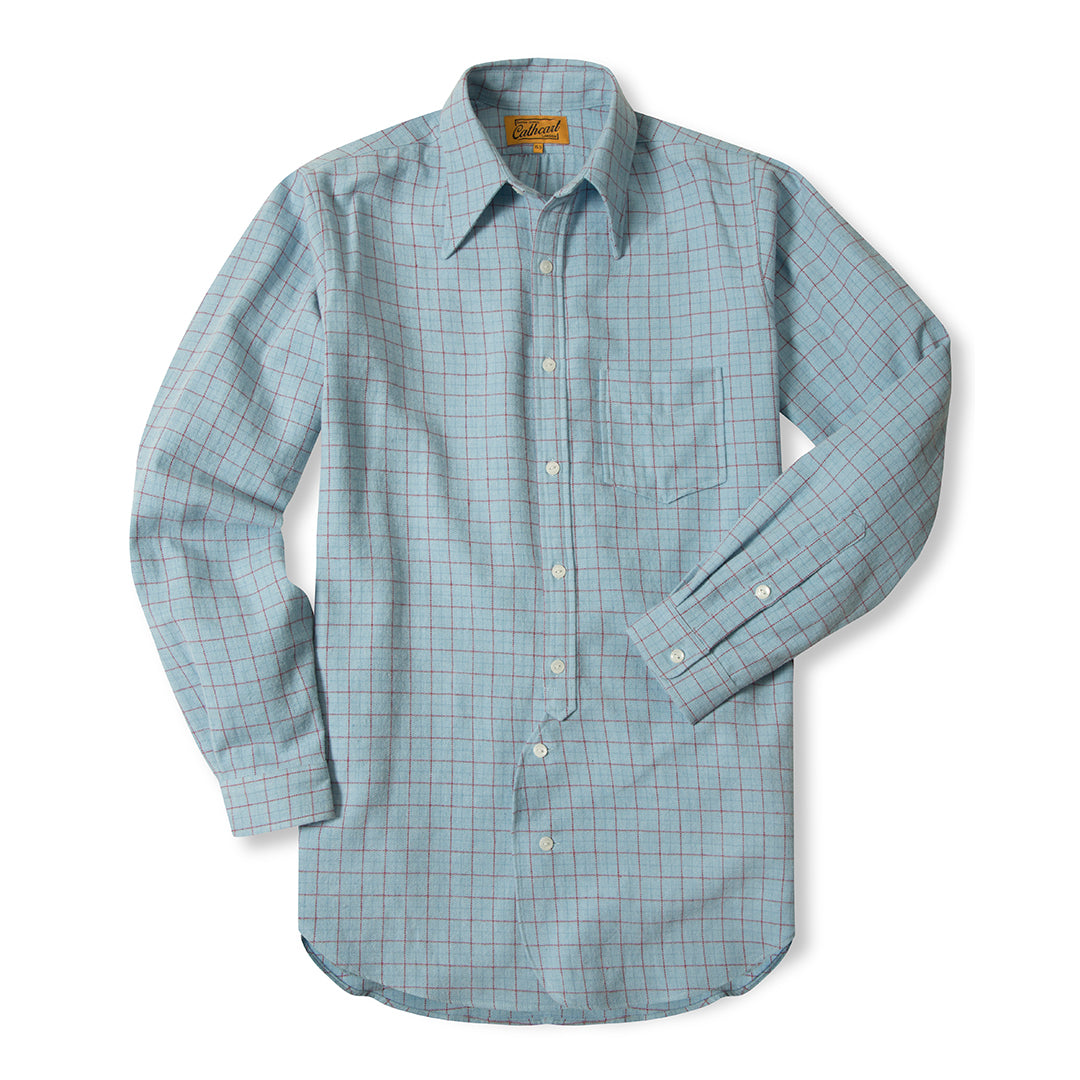 Duck Egg Tattersall Shirt