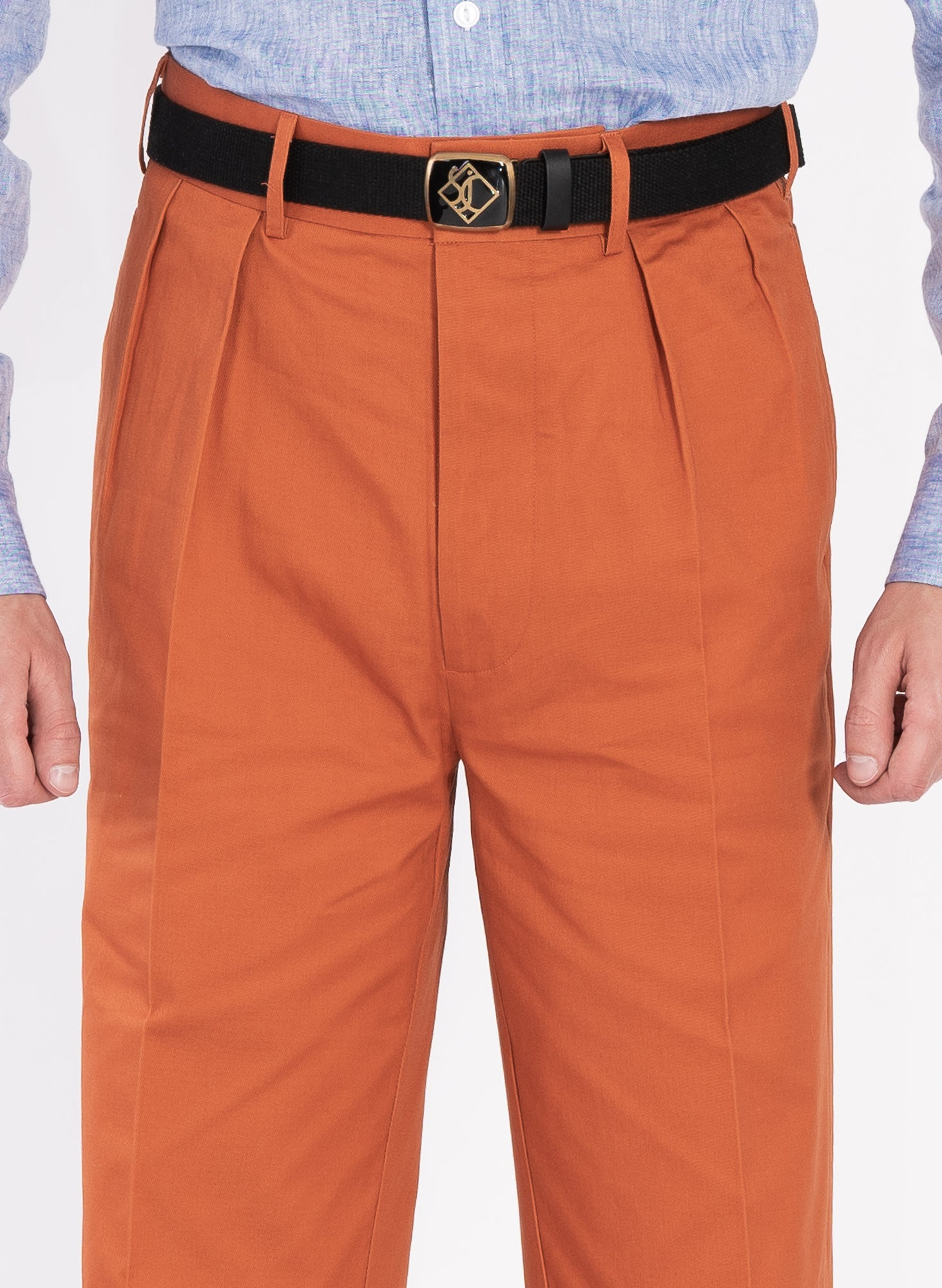 Clay Pleated Chino